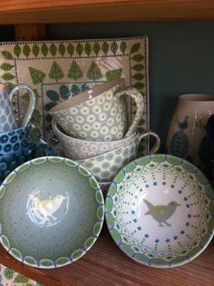 Katrin Moye - Little wren bowls - 14cm diameter