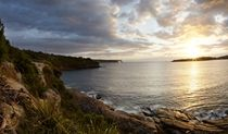 Scenic views from North Head lookout, Sydney Harbour National Park.