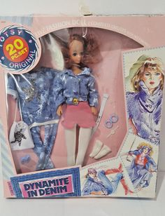 Vintage TOTSY DYNAMITE IN DENIM Fashion Doll Outfits Accessories Set  | Dolls & Bears, Dolls, By Brand, Company, Character | eBay!