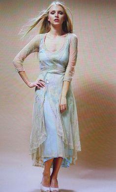 New With $235 tags Nataya Sage Turquoise Romantic Lace Dress #Nataya #Romantic #Formal