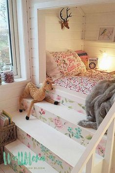 Inspiration can be every where. And it can start in a room. Great idea for kids room Inspiration can be every where. And it can start in a room. Great idea for kids room Dream Rooms, Dream Bedroom, Girls Bedroom, Bedroom Decor, Kid Bedrooms, Pretty Bedroom, Master Bedroom, Kids Bedroom Ideas For Girls, Beds For Girls