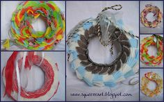 Muffin in garland Washer Necklace, Garland, Crochet Earrings, Muffin, Crafts, Craft Ideas, Jewelry, Manualidades, Jewlery
