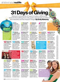 31 Days of Giving (Back)
