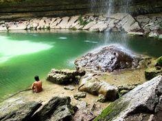 Hamilton Pool Preserve near Austin, Texas