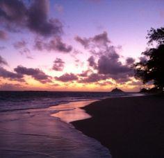 Kailua Beach, Kailua, Oahu, Hawaii —