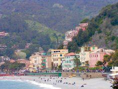 """""""New"""" side of Monterossa al Mare, Cinque Terre"""