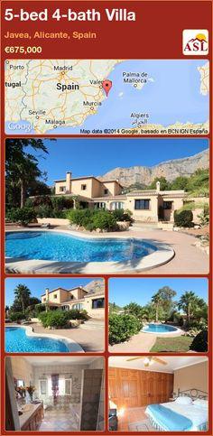 5-bed 4-bath Villa in Javea, Alicante, Spain ►€675,000 #PropertyForSaleInSpain