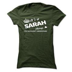 SARAH Thing - #tee trinken #sweater for men. TRY => https://www.sunfrog.com/Names/SARAH-Thing-43964437-Ladies.html?68278