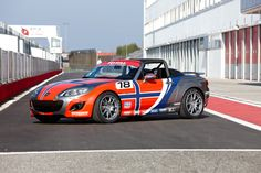 Mazda MX-5 Open Race, Car Design Norway