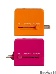 Adapter for traveling Inexpensive Graduation Gift Ideas - Inexpensive Graduation Gifts - House Beautiful