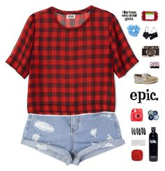 """""""Epic"""" by tofulover ❤ liked on Polyvore featuring Børn, Eres, Clips, Fuji and Sperry Top-Sider"""
