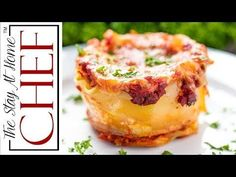 Mini Lasagna Cups are the perfect appetizer addition to your parties, or even just a new easy way to put together lasagna for dinner! So delicious, and so much fun!