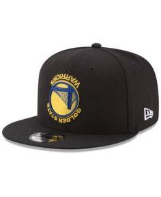 53a80bc0392 New Era Golden State Warriors Flip It 9FIFTY Snapback Cap - Black Adjustable