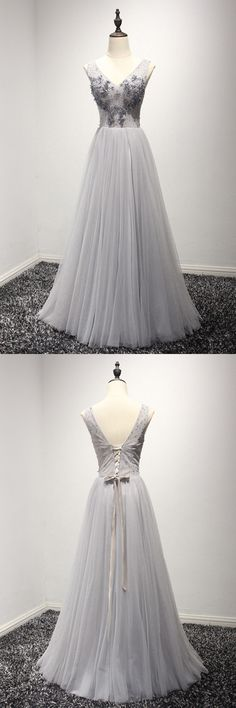 Only $149, Unique Long Grey Homecoming Dress For Teens With Beading Top #AKE18088 at #SheProm. SheProm is an online store with thousands of dresses, range from Prom,Formal,Evening,Grey,A Line Dresses,Long Dresses,Customizable Dresses and so on. Not only selling formal dresses, more and more trendy dress styles will be updated daily to our store. With low price and high quality guaranteed, you will definitely like shopping from us. Shop now to get $10 off!