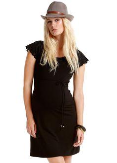 Esprit - Broderie Anglaise Sleeve Dress