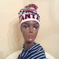 New York headwear hat❄️❄️❄️❄️❄️ Nice embroidery design of ATLANTA  warm hat  100% Acrylic New York HEADWEAR Accessories Hats