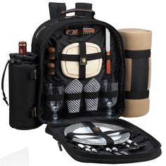 Bold Picnic Backpack for 2 with Blanket                              …