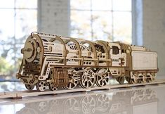 UGEARS: Elaborate Self-Propelled DIY Mechanical Models | Colossal