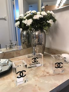 Nice Bedroom Inspired By Chanel Home Decor chanel home decor