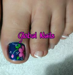 Pedicure Designs, Pedicure Nail Art, Toe Nail Designs, Manicure, Pretty Pedicures, New Nail Art Design, Nail Care Tips, Cute Nail Art, Pretty Toes
