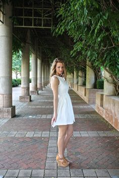 Bridal Shower Dress (White) – Girly Girl Boutique