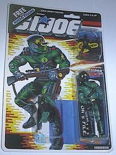 2018 Gi Joe Black Major Custom Night VIPER v1 Kit d/'accessoires