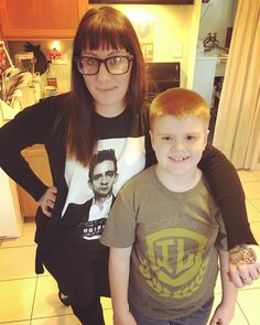 Liam and Aunt Daria  by magneticfeels
