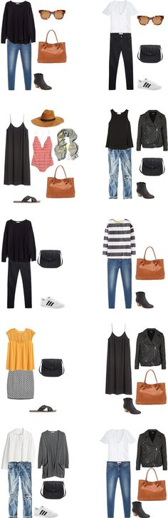 What to Wear on a mixed climate trip outfit options 11-20 #travellight #packinglight #traveltips #travel