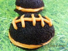 Cookin' Cowgirl: Cowgirl Football Whoopie Pies!