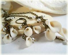 calla lily jewelry