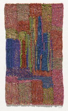 Linen and silk. Gift of the Hicks Family in honor of the artist's birthday. Textile Fiber Art, Textile Artists, Sheila Hicks, Creative Textiles, Macrame Art, Tapestry Design, 80th Birthday, Tapestry Weaving, Couture