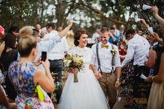 AN AUSTRALIAN ROMANCE: JONATHAN & HAYLEY MONSON | Raspberry Wedding