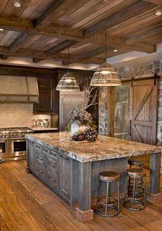 08 Best Rustic Farmhouse Kitchen Cabinets Ideas