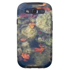 Floating leaves Samsung Galaxy S3 case. $46.00