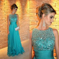 Ocasiones especiales vestidos formales 2016 cuentas de encaje Hunter gasa larga Runway Sexy Crystal elegante de la fiesta vestidos elegantes para las mujeres(China (Mainland))