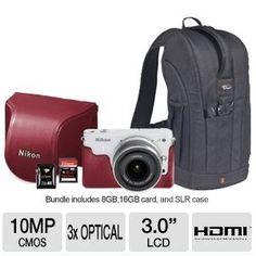 Amazoncom Nikon 1 J1 Digital Camera Mother39s Day Gift Bundle Electronics