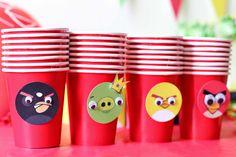 Imprimible gratuito para fiesta de Angry Birds