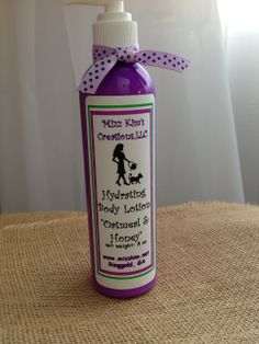 Mizz Kim's Hydrating Body Lotion. Comes in many wonderful scents! www.mizzkim,net