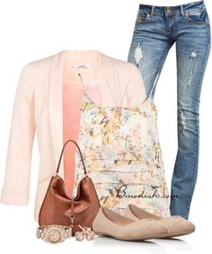 Vestir con un top con Flores - Outfits 8