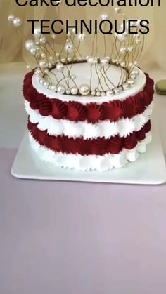Cake Decorating Frosting, Cake Decorating Designs, Creative Cake Decorating, Cake Decorating Techniques, Cake Decorating Tutorials, Creative Cakes, Cake Designs, Cookie Decorating, Bolo Chanel