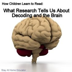 Ever wondered just exactly how kids learn to read? How Children Learn to Read: What Reserach Tells Us about Decoding and the Brain Reading Strategies, Reading Activities, Teaching Reading, Writing Resources, Brain Based Learning, Kids Learning, Learning Process, Preschool Lessons, Preschool Activities
