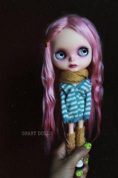 G.Baby Custom Blythe doll 163. Kitson by bebebentley on Etsy