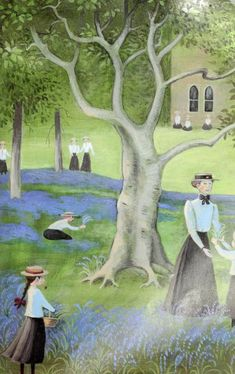 "Barbara Cooney «Eleanor» | ""Картинки и разговоры"" Barbara Cooney, Authors, Illustrators, Landscapes, Cozy, Painting, Art, Paisajes, Art Background"