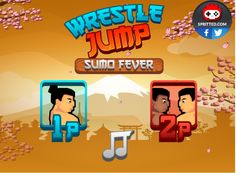 WRESTLE JUMP: SUMO FEVER  https://sites.google.com/site/hackedunblockedgamesschool/wrestle-jump-sumo-fever
