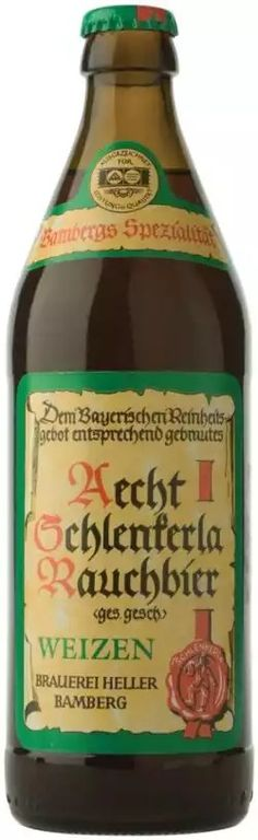 Aecht Schlenkerla Rauchbier Weizen - smoked wheat beer from Bamberg, Germany. 9,5/10 pts