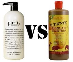 Philosophy Purity vs. Alaffia African Black Soap - a complete rundown of ingredients and toxins! Review Best Face Wash, Acne Face Wash, Best Natural Face Wash, Face Skin, Top Skin Care Products, Best Face Products, Best Natural Hair Products, Natural Hair Growth, Beauty Products