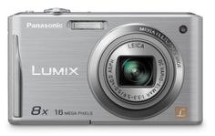 "Panasonic DMC-FH25 16.1MP Digital Camera with 8X Wide Angle Image Stabilized Zoom and 2.7-Inch LCD - Silver by Panasonic. $219.99. From the Manufacturer                  FH25   Panasonic LUMIX FH25 The LUMIX DMC-FH25 shoots high-quality 16.1 megapixel images and combines a 28mm wide-angle*1 LEICA DC lens with a powerful 8x optical zoom to take amazing photos. Redesigned with an easy-to-hold grip and slim and stylish profile, it features a 2.7"" Intelligent LCD, 720p High..."