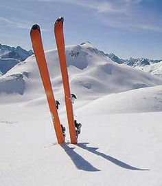 as an object skiis motivates me, they make me want to be active and enjoy the outdoors every winter.