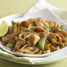 Asian Chicken Noodle Bowl (via www.foodily.com/r/vENXYD54eE-asian-chicken-noodle-bowl)