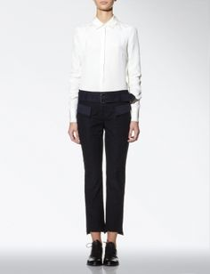 Joseph SID PATCHWORK TROUSERS Trousers, Pants, Fashion Advice, Looking For Women, Autumn Fashion, Stylists, Style Inspiration, Joseph, My Style